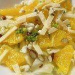 Salată cu fenicul și portocală
